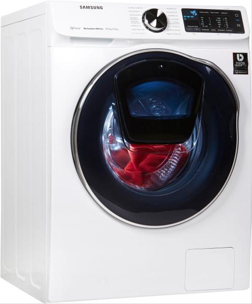 """SAMSUNG Waschtrockner """"WD6800 QuickDrive WD81N642OOW/EG"""" (A, 8kg/5kg)"""
