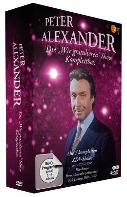 """Die Peter Alexander """"Wir gratulieren"""" Show - Komplettbox"""