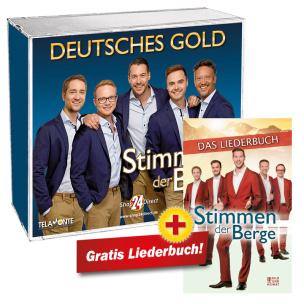 Deutsches Gold + GRATIS Liederbuch