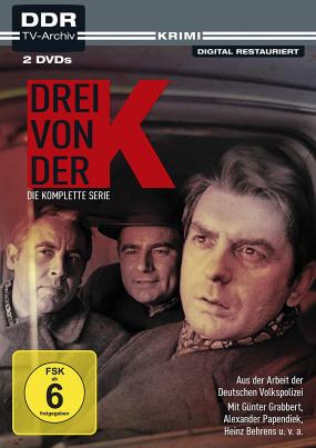 Drei von der K - Aus der Arbeit der Deutschen Volkspolizei (DDR TV-Archiv)