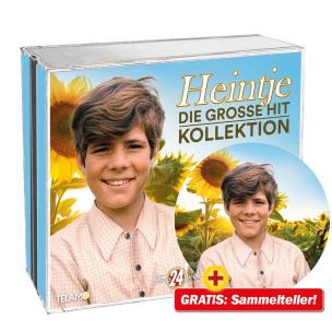 Die grosse Hit Kollektion + GRATIS Heintje Sammelteller