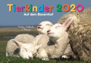 Tierkinder auf dem Bauernhof - Kalender 2020