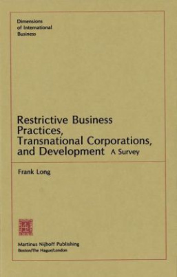 Restrictive Business Practices, Transnational Corporations, and Development