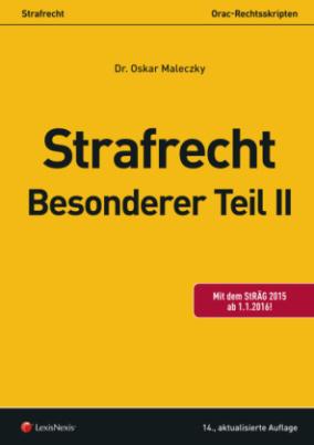 Strafrecht - Besonderer Teil II (f. Österreich)