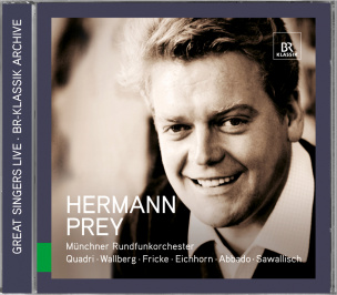 Great Singers Live - Hermann Prey