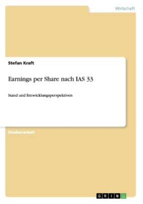 Earnings per Share nach IAS 33