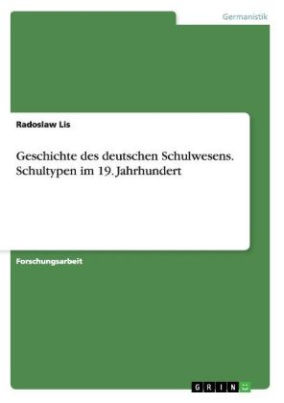 Geschichte des deutschen Schulwesens