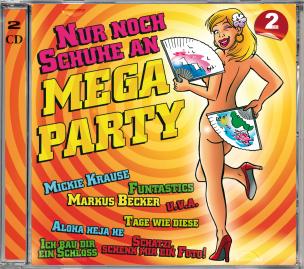 Nur Noch Schuhe An - Mega Party (2CD´s)
