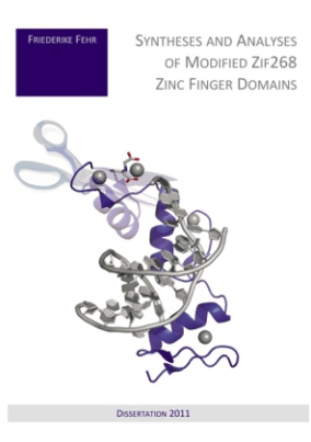Syntheses and Analyses of Modified Zif268 Zinc Finger Domains