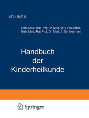 Handbuch der Kinderheilkunde
