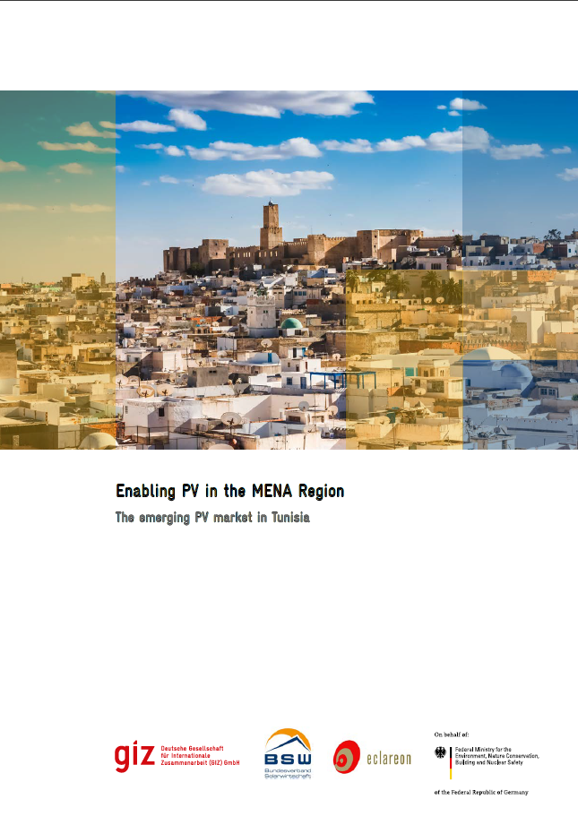 Enabling PV in the MENA region – The Emerging PV Market in Tunisia
