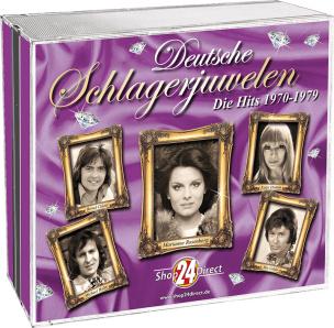 Deutsche Schlagerjuwelen - Die Hits 1970-1979