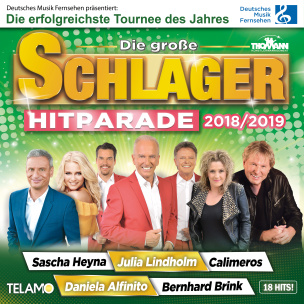 Die große Schlager Hitparade 2018/ 2019