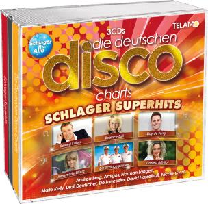 Die deutschen Disco Charts - Schlager Superhits