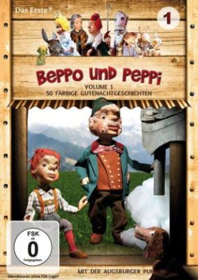 Augsburger Puppenkiste - Beppo und Peppi, 1 DVD. Vol.1