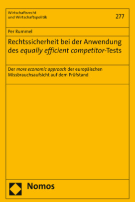 Rechtssicherheit bei der Anwendung des equally efficient competitor-Tests