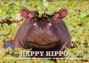 Emotionale Momente: Happy Hippo (Posterbuch, DIN A4 quer)