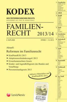 KODEX Familienrecht 2013/14