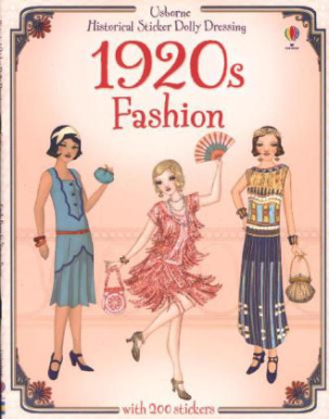 Historical Sticker Dolly Dressing  -1920s Fashion