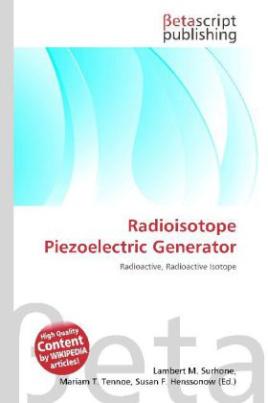 Radioisotope Piezoelectric Generator