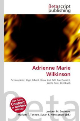 Adrienne Marie Wilkinson