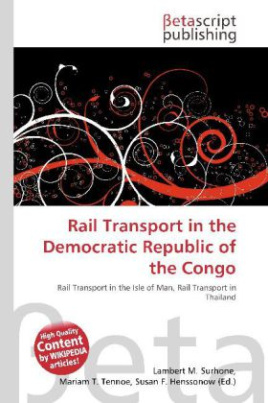 Rail Transport in the Democratic Republic of the Congo