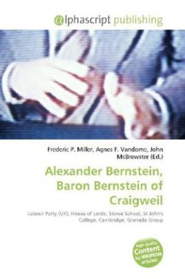 Alexander Bernstein, Baron Bernstein of Craigweil