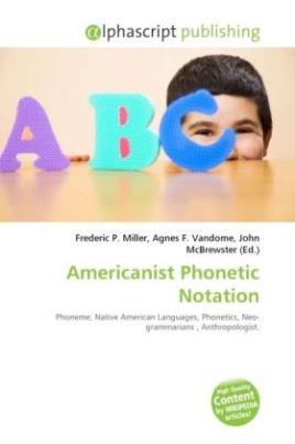 Americanist Phonetic Notation