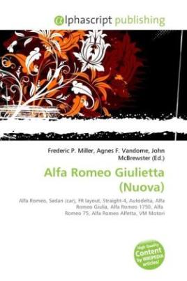Alfa Romeo Giulietta (Nuova)