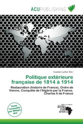 Politique extérieure française de 1814 à 1914