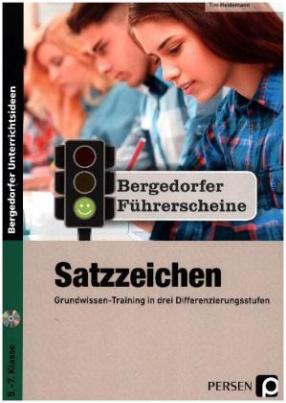 Führerschein: Satzzeichen - Sekundarstufe, m. CD-ROM
