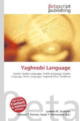 Yaghnobi Language