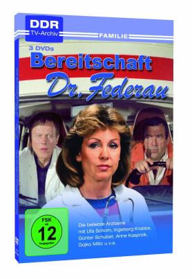 Bereitschaft Dr. Federau (DDR TV-Archiv) (3DVD´s)