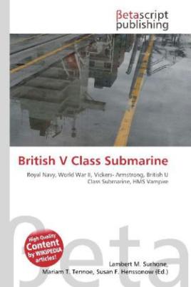 British V Class Submarine