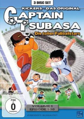 Captain Tsubasa - Die tollen Fußballstars, 3 DVDs. Vol.1