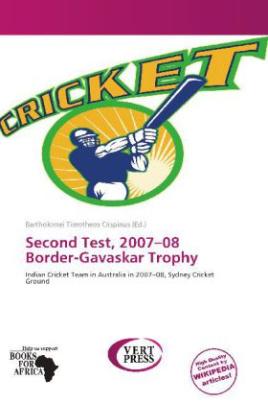 Second Test, 2007 08 Border-Gavaskar Trophy