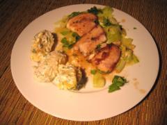 Karamellisierter Fisch mit Limette