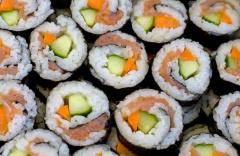 Gemischtes Nori-Sushi