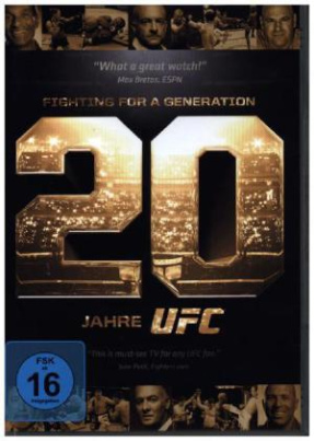 UFC - Fighting For A Generation, 2 DVD