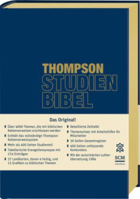 Thompson Studienbibel - Leder, Goldschnitt