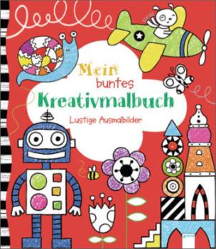 Mein buntes Kreativmalbuch
