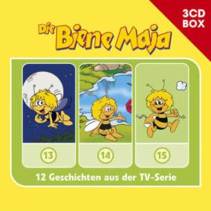 Die Biene Maja - 3-CD Hörspielbox, 3 Audio-CDs. Vol.5