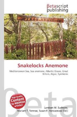 Snakelocks Anemone