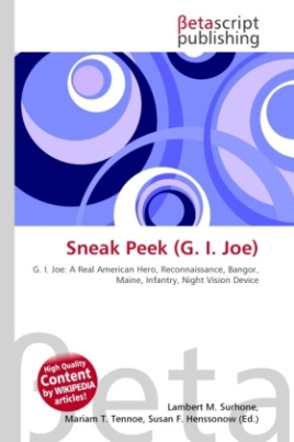 Sneak Peek (G. I. Joe)