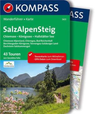 Kompass Wanderführer SalzAlpenSteig