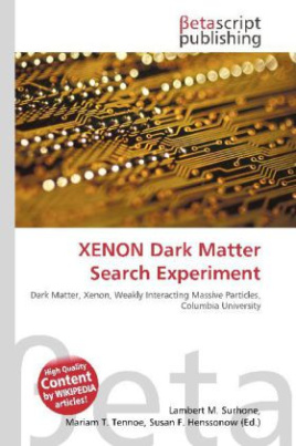 XENON Dark Matter Search Experiment