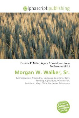 Morgan W. Walker, Sr.