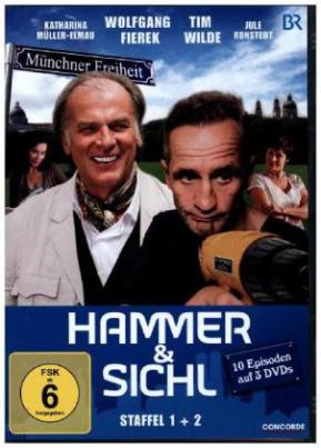 Hammer & Sichl, 3 DVDs. Staffel.1+2