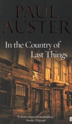 In the Country of Last Things. Im Land der letzten Dinge, englische Ausgabe