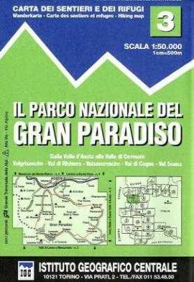 IGC Wanderkarte Il Parco Nazionale de Gran Paradiso